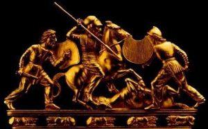 1400ac Los Scythians esparcen la planta en el occidente de Europa