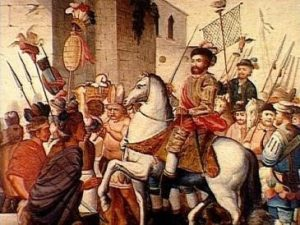 Hernán Cortéz mandó traer plantas de cannabis para reactivar la economía de la Nueva España.
