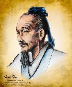 El cirujano chino Hua t´o usa el cañamo como anestésico