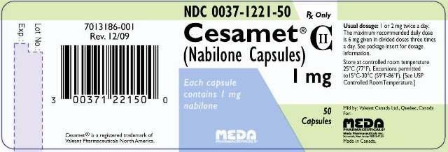 Aparece la nabilona, una medicación sintetica basada en el cannabis