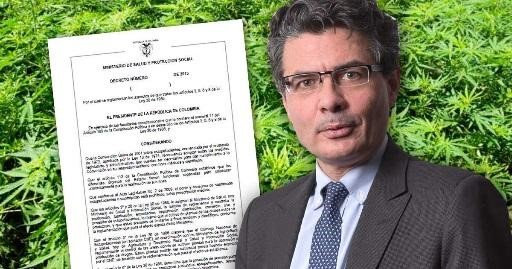 El ministerio de salud colombiano emite un decreto que regulariza el uso de cannabis medicinal.